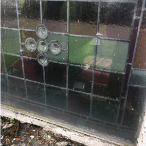 wet-rot in frame